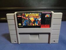 Wolverine: Adamantium Rage Super Nintendo SNES AUTHENTIC Game Cleaned Tested