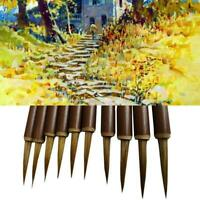 Chinese Fine Line Painting Brush Pen Bamboo Shaft Paint Brushes Art Supply N5D2