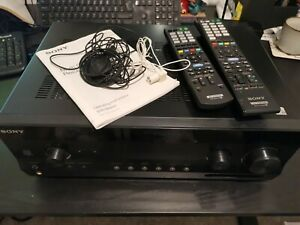 Sony STR-DH820 AV Amplifier. All Accessories. Working