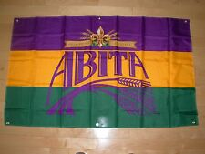 ABITA BEER New Orleans FLAG Label Art craft beer brewery