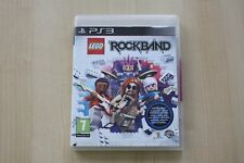 LEGO ROCKBAND PS3 2009 NEW AND SEALED