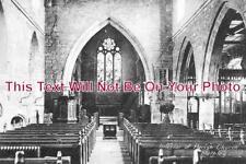 YO 1038 - Interior Of Parish Church, Methley, Leeds, Yorkshire c1920 - 6x4 Photo