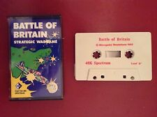 ZX Spectrum - Battle of Britain by Microgame Simulations