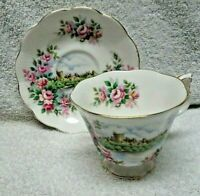 Royal Albert Ancestral Series England's Glory Cup and Saucer