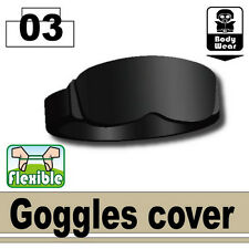 Goggles Cover (W83) Army Tactical Equipment Compatible w/toy brick minifigures