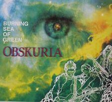 OBSKURIA: Burning sea of green (2010); German neo-progressive with organ WIS Neu