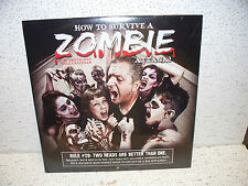 2014 How To Survive A Zombie Attack 16 Month Calendar Brand New Sealed