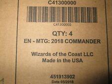 Magic The Gathering comandante 2018 caja de cubierta
