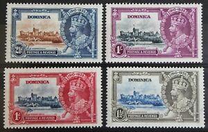 Dominica - 1935 – Silver Jubilee – VERY Lightly Mounted Mint (Se1-E)