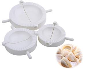 3pc Dumpling Mould Pasty Pastry Press Dough Dimsum Maker Set Empanada Calzone