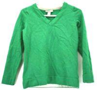 Banana Republic Women's Medium Extra Fine Merino Wool Blend Long Sleeve Sweater