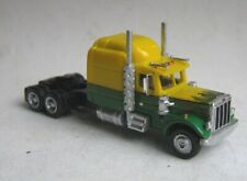 TT scale (1:120) model of the American truck Peterbilt 359.,sleeper cab