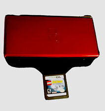 ❤️Nintendo DS Lite Red ~ Comes With Batman Game Handheld System (2 Slots)