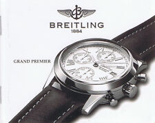 BREITLING GRAND PREMIER ANLEITUNG INSTRUCTIONS I246