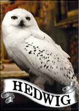 Harry Potter Hedwig The Owl Photo Image And Name Refrigerator Magnet NEW UNUSED