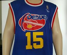 Denver Nuggets NBA Heritage 75-76 Jersey- Reebok Hardwood Classics-Adult X-Large