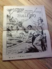 VINTAGE 1953 HAWTHORNE HUNTING & FISHING CLUB BULLETIN NEWSLETTER