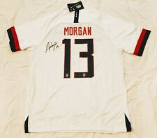 2019 Alex Morgan Signed Soccer Jersey *PROOF USA World Cup France