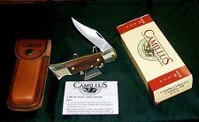 Camillus #4 Lockback Knife & Sheath Circa-1960 -1975 W/Original Package,Papers