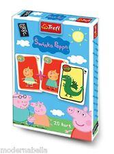 Peppa Pig mazzo di 25 carte da gioco Bambini classico Peter Nero