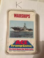 Ace Trump Game - Warships - Top Trumps - Card Game