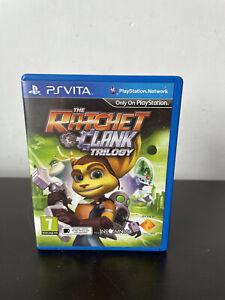 Ratchet & Clank Trilogy (Play Station Vita, 2014)