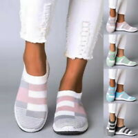 Women's Comfortable Outdoor Casual Sports Shoes Breathable Flat Socks Shoes BSN