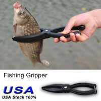 Outdoor Portable ABS Plastic Fishing Pliers Tackle Fish Lip Gripper Grabber Tool