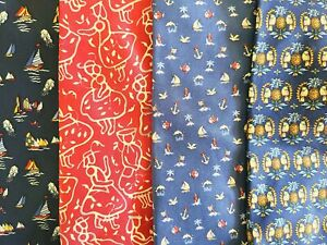 Salvatore Ferragamo Mens Print Silk Tie Lot, Blue, Red, Italy