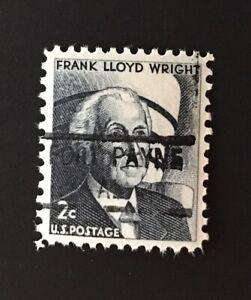 Fort Payne, Alabama Precancel - 2 cents Frank Lloyd Wright (U.S. #1280) MNH - AL