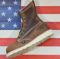 "Thorogood American Heritage 6"" Safety Steel Toe Work Boot [804-4478] Sample 7 D"