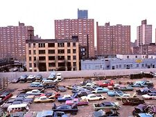 New York City in the Early 1970's roof top junk yard  8  x  10 Photograph