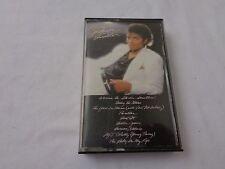 Vintage Michael Jackson  Thriller Audio Cassette Tape