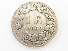 L384       SCHWEIZ 1,- Franken 1886