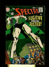 Spectre 5 VG/FN 5.0 * 1 Book Lot * DC! 1968! Jim Corrigan! Neal Adams! Psycho!