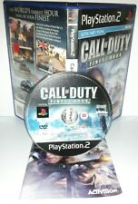 CALL OF DUTY FINEST HOUR - Playstation 2 Ps2 Play Station Gioco Bambini Game