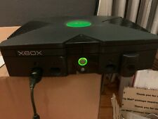 Classic Xbox with Duke Controller & Early PSU Adapter - Boxed but box VERY tatty