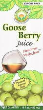 Basic Ayurveda Goose Berry Amla Juice FIRST PRESS VIRGIN (16 oz) EXP. JUNE 2019