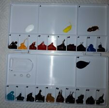 "QOR Watercolor ""SAMPLE PALETTE ONLY"" 24 colors"