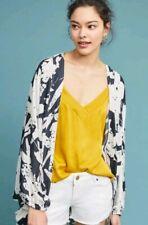 XS S M L One Size Anthropologie Akemi Kin Cocoon Kimono Festival Boho Top Duster
