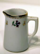 PICHET POT DINETTE porcelaine LANGENTHAL SUISSE 1950 décor BARBEAU Ht 6cm