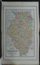 Illinois, State Map, 1904 L16#40