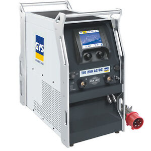 GYS AC/DC WATER COOLED TIG WELDING MACHINE FOR STEELE COPPER ALLOY 250AMP 85V