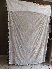 rideau cornely, 2.88 m X 1.42 m, ancien