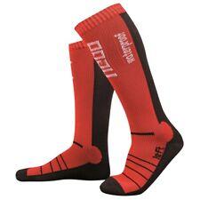 Hebo Waterproof Riding Socks Trials Enduro MX Motocross MTB Walking - Red/Black