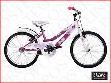 Bici Bicicletta da bambina 5-9 anni taglia 20 bianco-magenta 76472