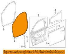 Chevrolet GM OEM Malibu Front Door-Weatherstrip Weather Strip Seal Left 25911897