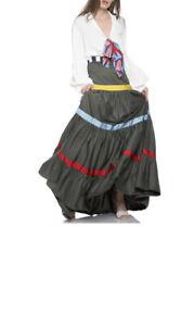 Stella Jean Maxi / Flamenco Skirt UK10