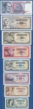 Jugoslavia/YUGOSLAVIA 5,10,20,50,100,500,1000,5000 Dinara 1968-86 UNC