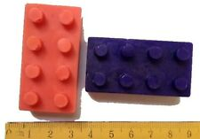 LEGO BRICKS MOULD - Soap/Ice/Chocolate/Icy Pops tray, crafts, fun, Silicone Mold